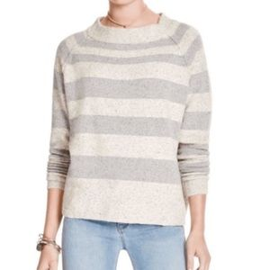 Wool Blend Free People Small Striped Sweater